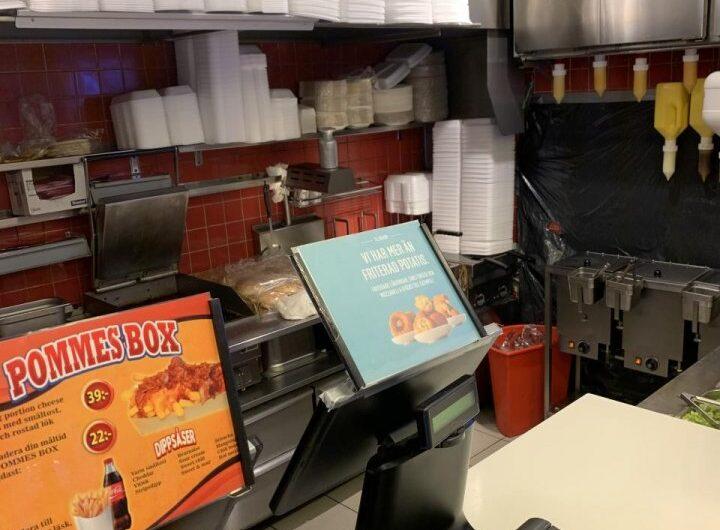 Till Salu – Restaurang – Kebab – Gatukök- Järntorget
