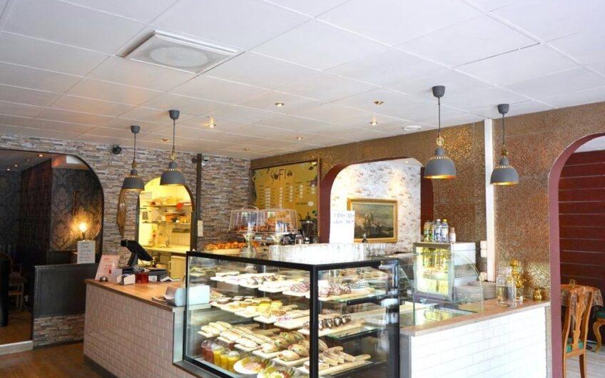 Till Salu –  Cafe – Konditori – Linnegatan